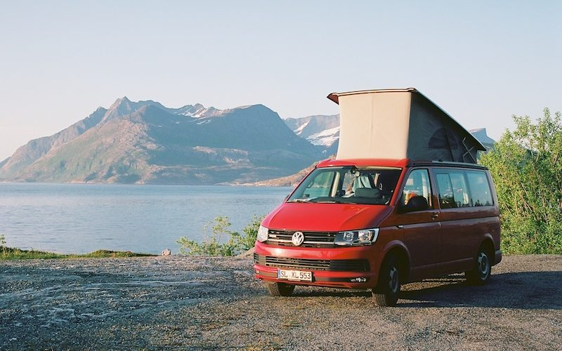 VW T6 California Beach, Kodak Ektar, Leica Elmarit M 2.8 28 asph., Kjerringøy, Karlsøfjord, | © mare.photo