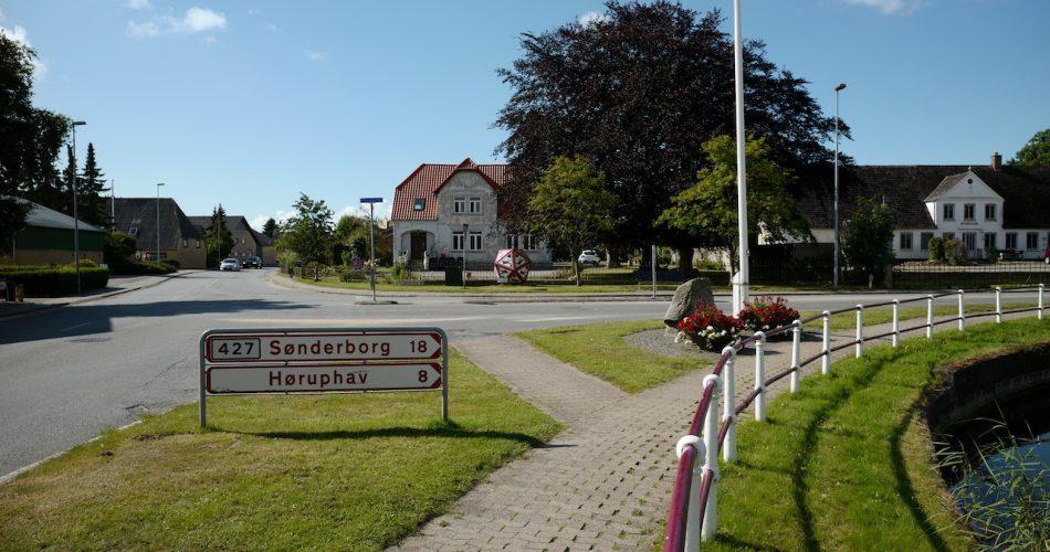 Gendarmstien, Skovby, Flensburger Förde, Høruo Hav