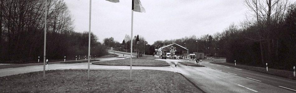 Grenzübergang Kupfermühle-Krusau, Kodak Tri X