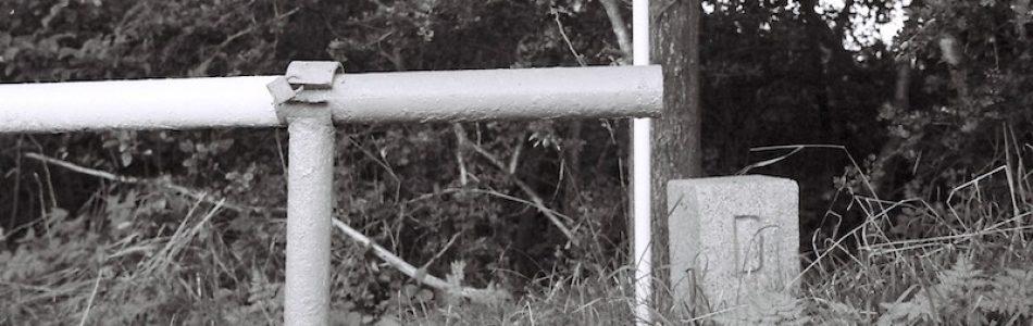 Grenze Alter Grenzübergang Kirchweg Ellund, Kodak Tmax 400, Leica M Elmarit 2.8 28 asph.